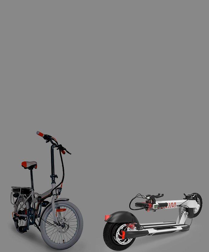 קורקינט חשמלי</br> Vs </br>אופניים חשמליות